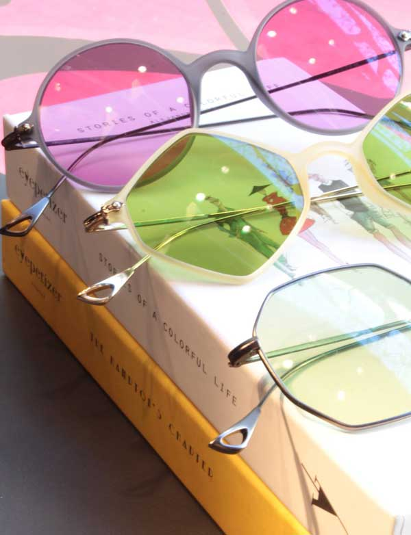 Gafas metal lentes color Eyepetizer