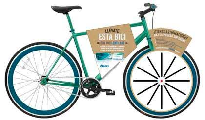 Bicicleta fixie sorteo