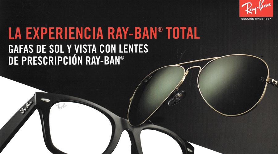 196b0e56e0 Graduarse unas gafas completas Ray Ban en Valencia