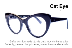 Gafas estilo Cat Eye