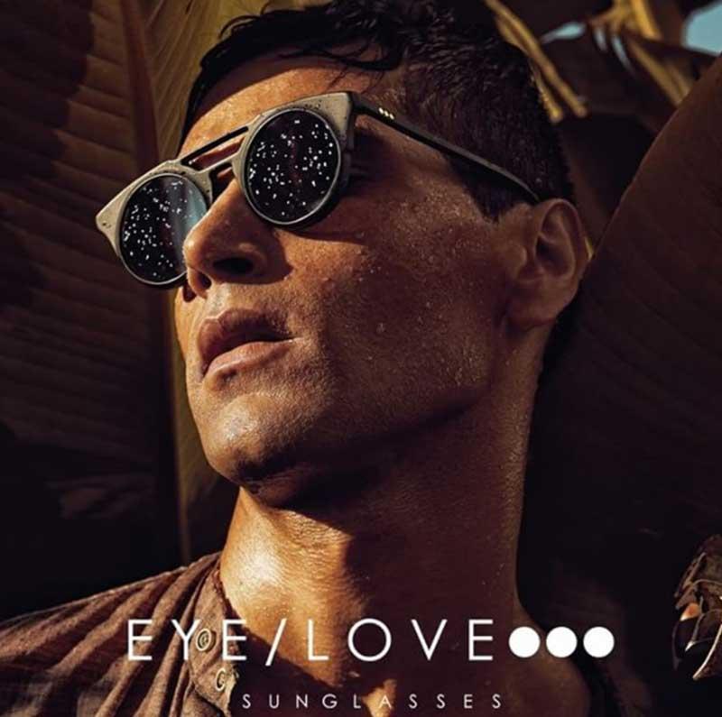 Gafas de sol italianas Eye Love en Asun Oliver Ópticas Valencia