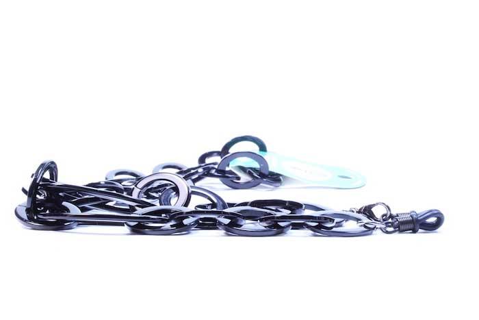 7b26a1015 Cadena para gafas Rocord Negra | Asun Oliver Ópticas