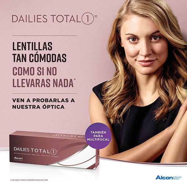 Campaña lentes de contacto Dailies Total 1