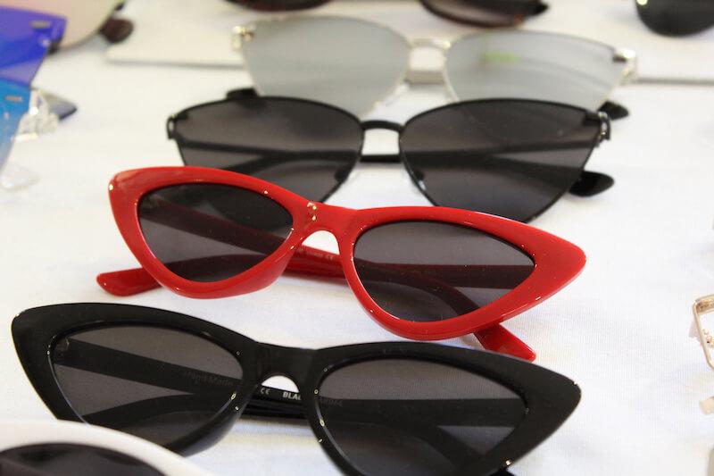Gafas de sol retro ojo de gato