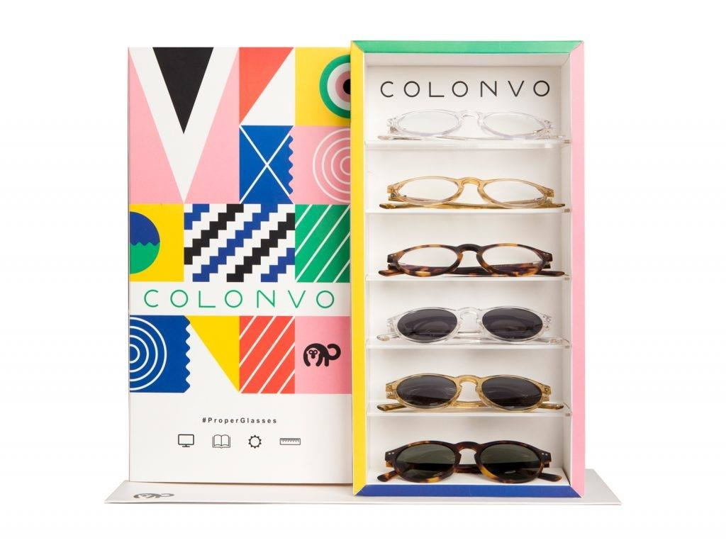 Gafas con lentes para proteger de la luz azul Colonvo