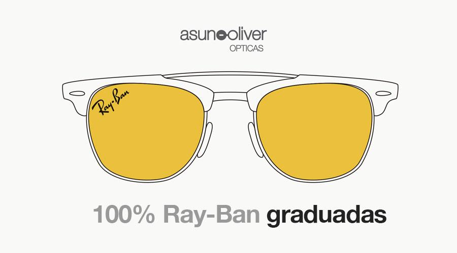 Mitad de precio bonita y colorida seleccione para oficial Tus gafas Ray-Ban graduadas y sol graduado 100% originales ...