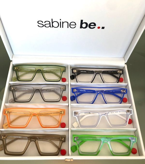 Línea de gafas Sabine Be Bold Line colores